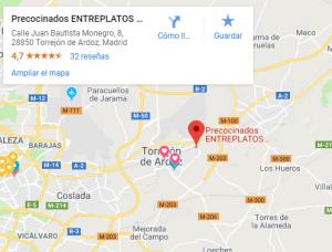 Dónde estamos en Google Maps